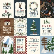 3X4 Journaling Cards Paper - Warm & Cozy - Echo Park
