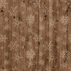 Wooden Snowflakes Paper - Warm & Cozy - Echo Park