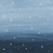 Snowy Sky Paper - Warm & Cozy - Echo Park