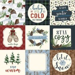 4X4 Journaling Cards Paper - Warm & Cozy - Echo Park