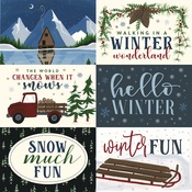 6X4 Journaling Cards Paper - Warm & Cozy - Echo Park