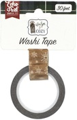 Winter Woodgrain Washi Tape - Echo Park