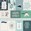3X4 Journaling Cards Paper - Snow Much Fun - Carta Bella