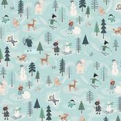 Fun With Friends Paper - Snow Much Fun - Carta Bella