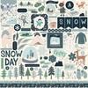 Snow Much Fun Element Sticker - Carta Bella