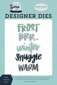 Winter Frost Word Die Set - Carta Bella