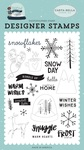 Frost And Ice Stamp Set - Carta Bella