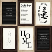 4X6 Journaling Cards Paper - Home Again - Carta Bella