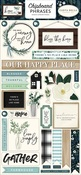 Home Again Chipboard Phrases - Carta Bella