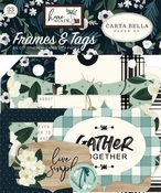 Home Again Frames & Tags - Carta Bella