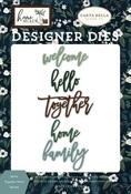 Home Together Word Die Set - Carta Bella