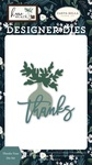 Thanks Vase Die Set - Carta Bella