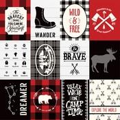 3X4 Journaling Cards Paper - Little Lumberjack - Echo Park