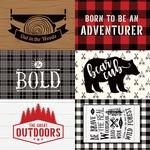 4X6 Journaling Cards Paper - Little Lumberjack - Echo Park