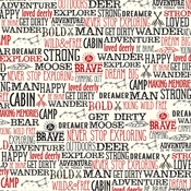 Wander Words Paper - Little Lumberjack - Echo Park