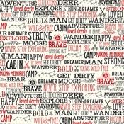 Wander Words Paper - Little Lumberjack - Echo Park
