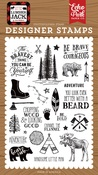 Be Brave Stamp Set - Echo Park