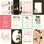 3X4 Journaling Cards Paper - Salon - Echo Park
