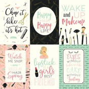4X6 Journaling Cards Paper - Salon - Echo Park