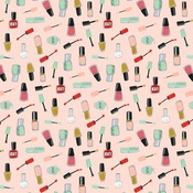 Nail Polish Paper - Salon - Echo Park