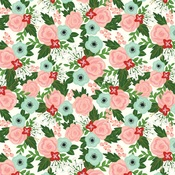 Salon Floral Paper - Salon - Echo Park