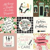 4X4 Journaling Cards Paper - Salon - Echo Park