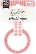 Pink Buffalo Plaid Washi Tape - Echo Park