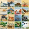 3X3 Journaling Cards Paper - Dinosaurs - Carta Bella