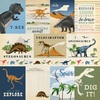 3X4 Journaling Cards Paper - Dinosaurs - Carta Bella