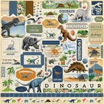 Dinosaurs Element Sticker - Carta Bella