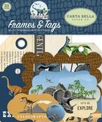 Dinosaurs Frames & Tags - Carta Bella
