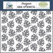 Dino Palm Stencil - Carta Bella