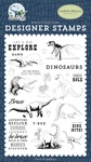 Dinos Rule Stamp Set - Carta Bella