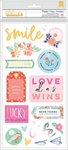 Delightful Chipboard Iridescent Thickers - Dear Lizzy