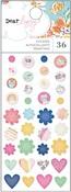 She's Magic Enamel Stickers - Dear Lizzy