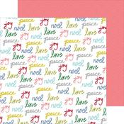 Peace & Love Paper - Home For The Holidays - Pinkfresh