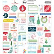 Home For The Holidays Cardstock Stickers - Pinkfresh