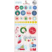 Home For The Holidays Mixed Embellishment Pack - Pinkfresh