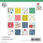 Home For The Holidays 6 x 6 Paper Pad - Pinkfresh