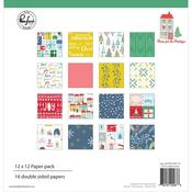 Home For The Holidays 12 x 12 Paper Pad - Pinkfresh