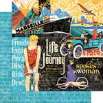 Life's A Journey Paper - Graphic 45