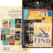 Life's A Journey Ephemera & Journaling Cards - Graphic 45
