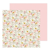 Woodland Floral Paper - Peek-A-Boo You - Pebbles