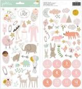 Peek-A-Boo You Girl Sticker Sheet - Pebbles