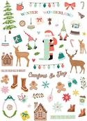 Home for Christmas Paper Ephemera - Fancy Pants