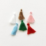 Home for Christmas Tassels - Fancy Pants