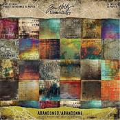 Abandoned 8 x 8 Paper Pad Paper Stash - Tim Holtz - PRE ORDER