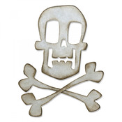 Skull & Crossbones Sizzix Bigz Die By Tim Holtz - PRE ORDER