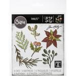 Funky Festive Florals Sizzix Thinlits Dies By Tim Holtz