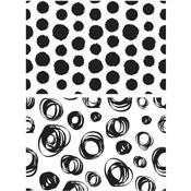Dots & Circles Tim Holtz Cling Stamps